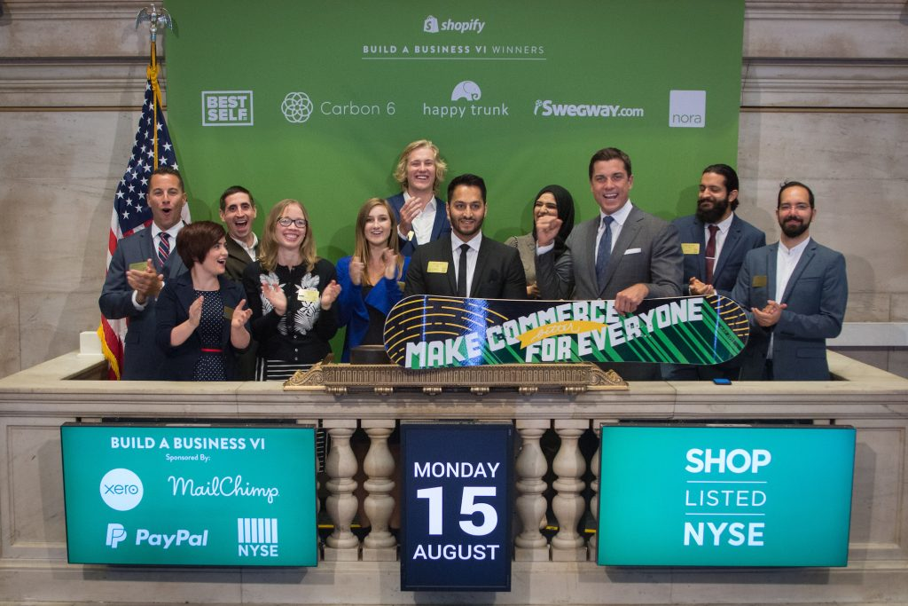 Asad Saddique NYSE Opening Bell